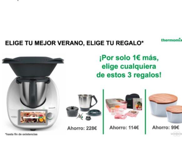 Compra el nuevo Thermomix® TM6 y elige tu promoción con una edición por 1€ más - Coruña