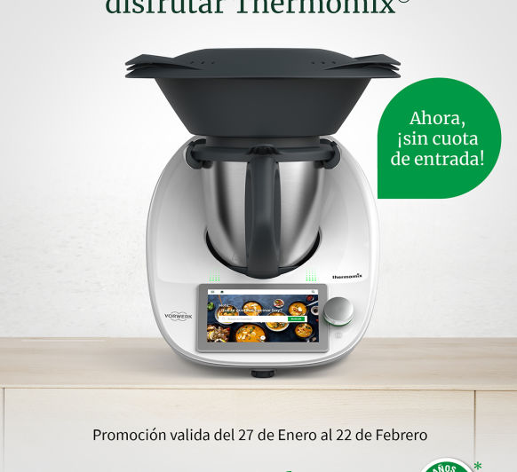 SOLO 34,75€ . NO TE QUEDES SIN TU Thermomix®