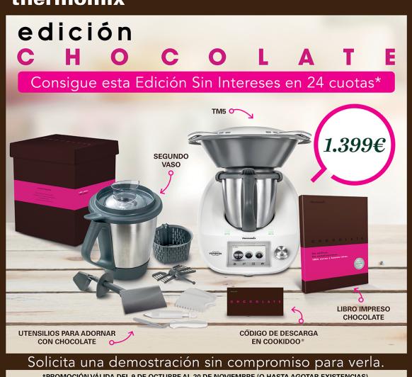 Thermomix® EDICIÓN CHOCOLATE, CON UN SEGUNDO VASO AL (0%) INTERÉS
