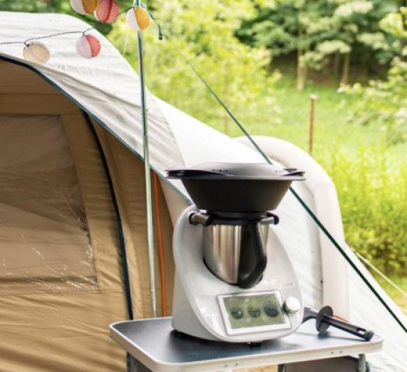 Vacaciones con tu Thermomix® - Camping, Caravana, Apartamento, Hotel,... viaja con el TM6