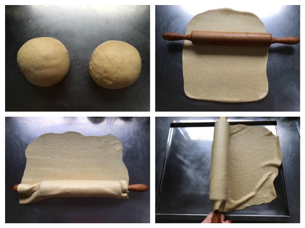 Empanada de grelos y zamburiñas con Thermomix® - Opción con y sin gluten