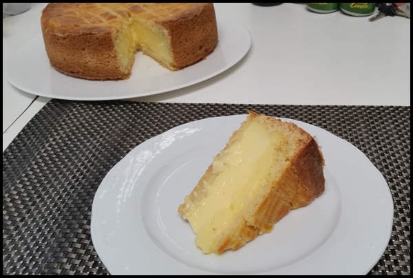 PASTEL VASCO CON Thermomix®