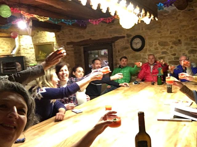 Disfrutando en Castrillo de los Polvazares con amigos y Thermomix®