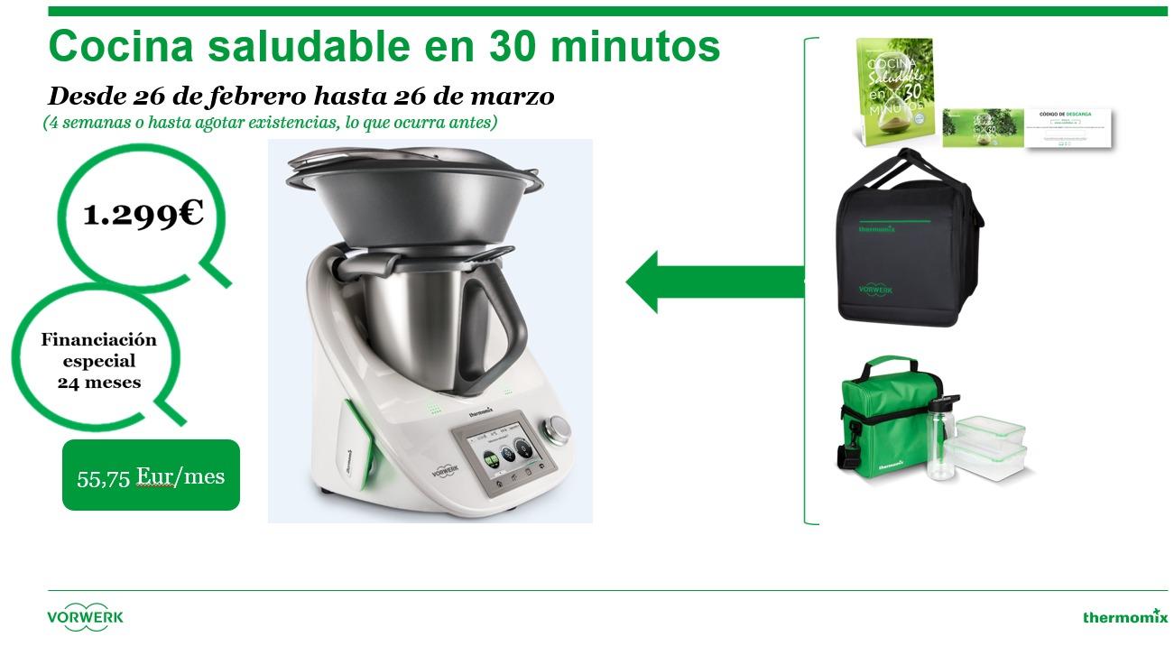 Thermomix cocina saludable en 30 minutos noticias for Cocina saludable en 30 minutos thermomix