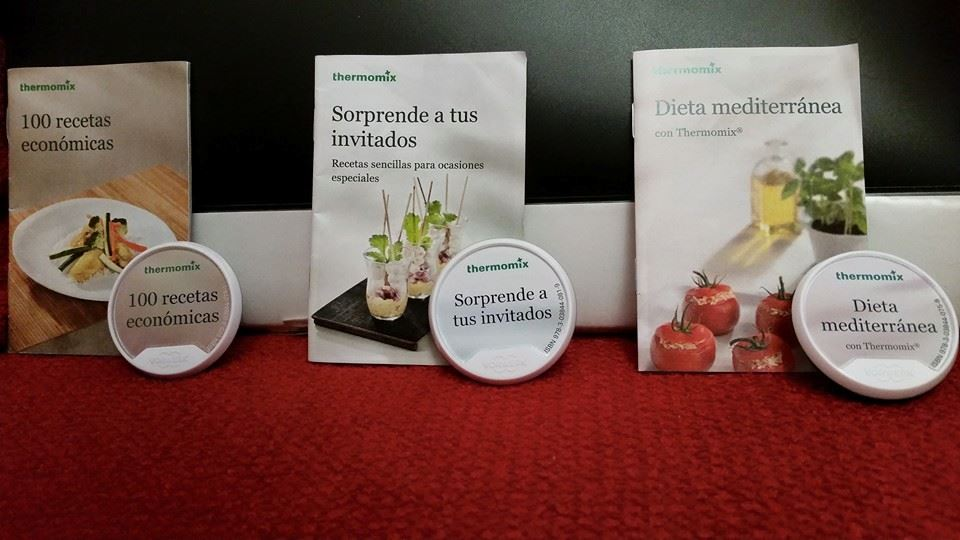 NUEVOS LIBROS DIGITALES Thermomix®