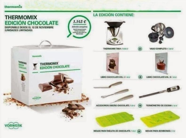 NUEVA PROMOCIÓN Thermomix® EDICIÓN CHOCOLATE