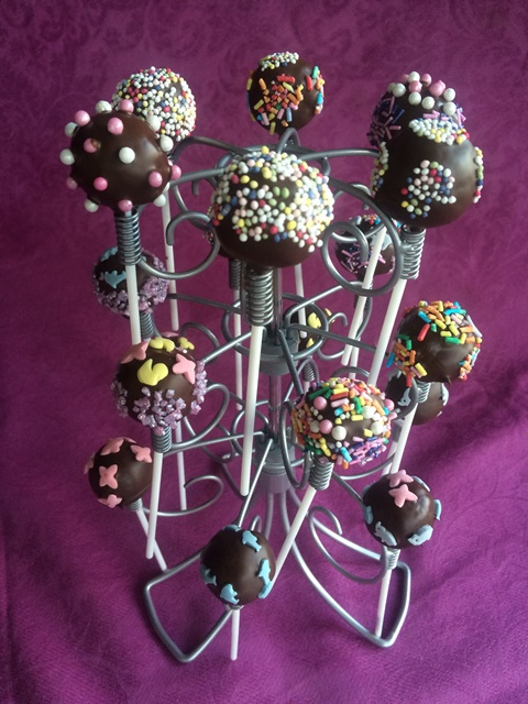Un postre especialmente dedicado a Ana: Cake Pops de galletas Oreo