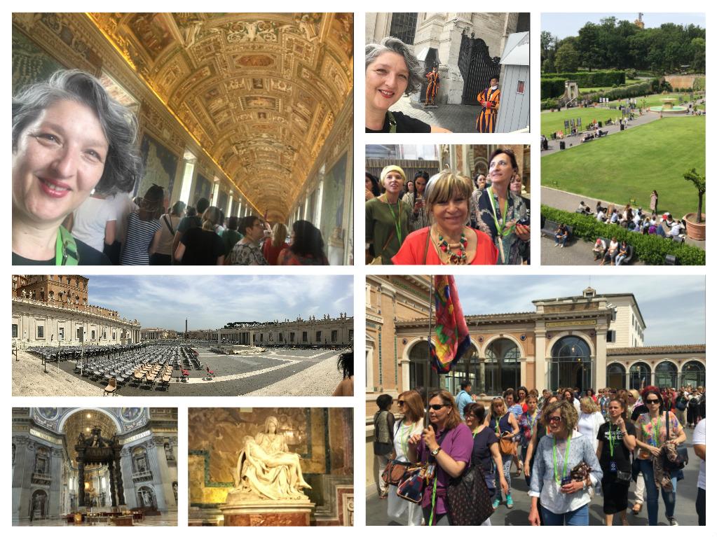 Los Cuatro Caminos llegan a Roma o Cómo viajar con Thermomix®