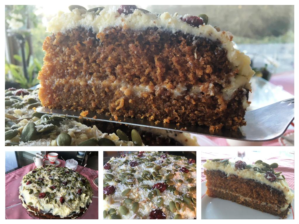 Tarta de zanahoria - Carrot cake con Thermomix®