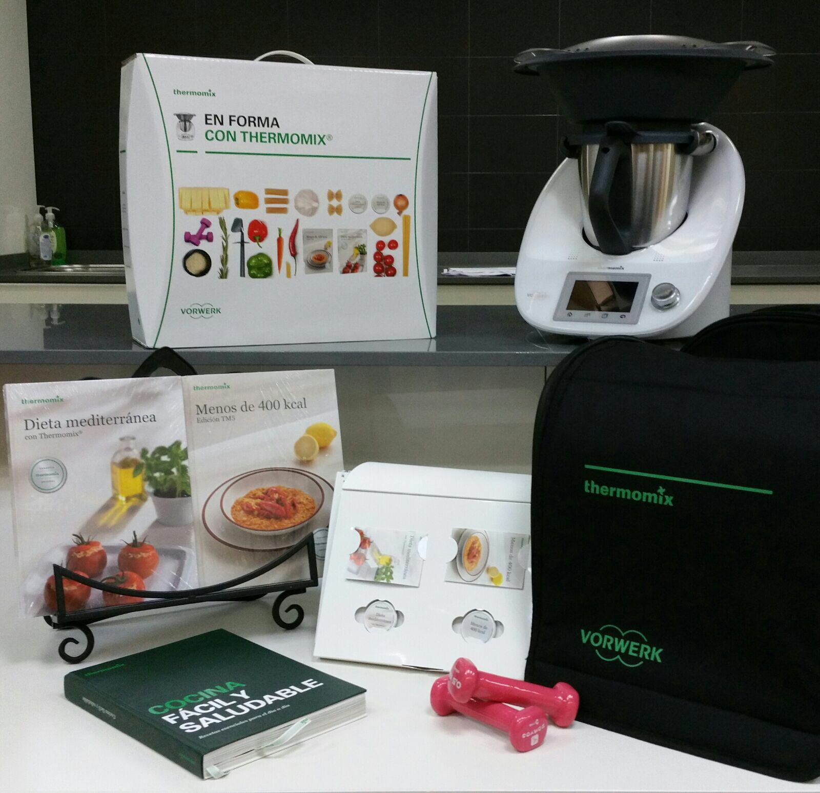 IN THE MOOD - EN FORMA CON Thermomix®