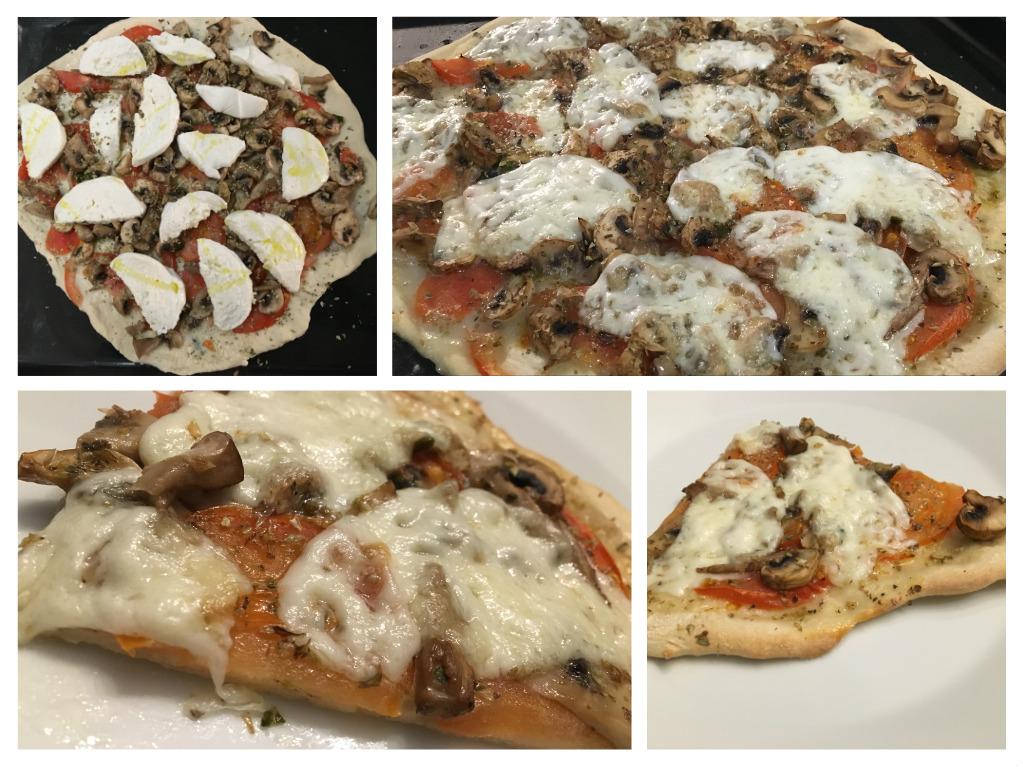 Menú del día: Pizza con masa crujiente con Thermomix®