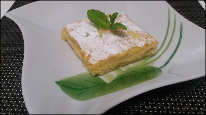 TARTA DE MANZANA Y PERA (suave, rica y fácil)