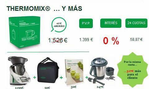 Thermomix® Y MÁS AL 0% DE INTERÉS