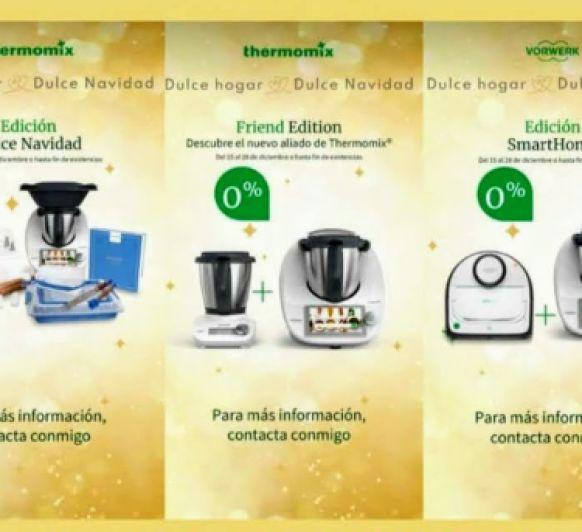 COMPRA Thermomix® TM6 EDICIÓN NAVIDAD FINANCIADA AL 0% CON FRIEND O SMARTHOME