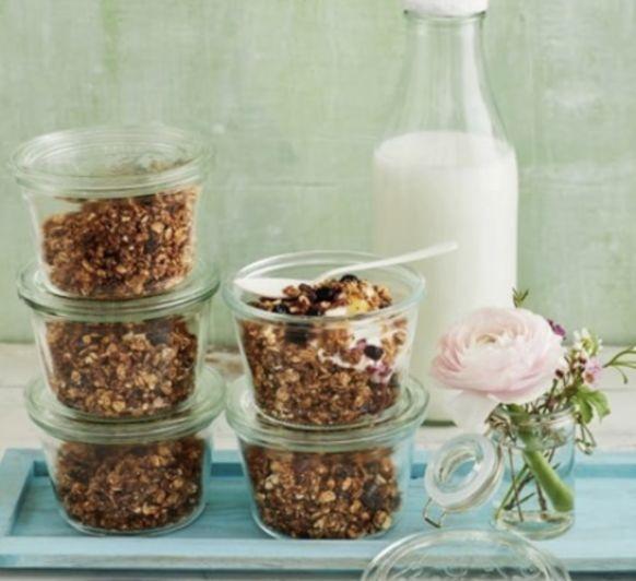 Granola de quinoa y frutos secos (sin azúcar) con Thermomix®