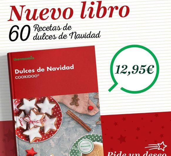 LIBRO DE COCINA DULCES DE NAVIDAD COOKIDOO