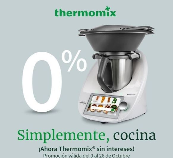 VUELVE Thermomix® .....SIN INTERESES