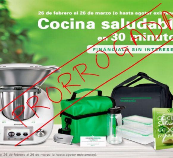 Promoción Cocina saludable en 30 minutos SIN INTERESES - PRORROGADA