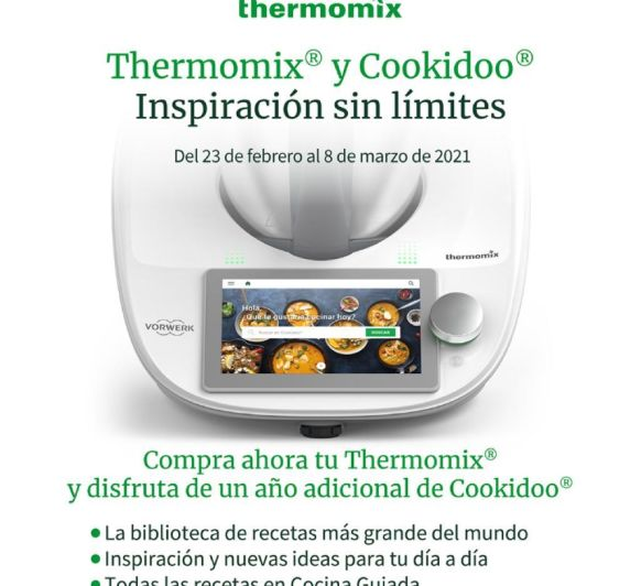 Thermomix® regala 18 meses de Cookidoo - COMPRA tu TM6 en Coruña