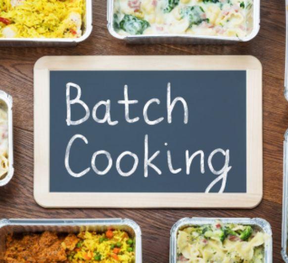 Batch cooking: cocinar por adelantado