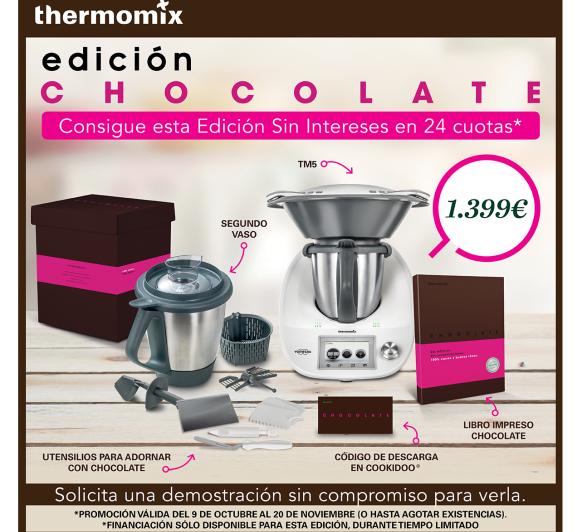 La respuesta a cualquier pregunta: Chocolate y Thermomix® + 2º vaso y al 0%