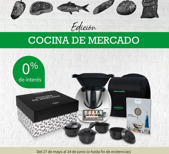 COMPRAR Thermomix® TM6 EN CORUÑA NUNCA FUE TAN FACIL | EDICION COCINA DE MERCADO | SIN INTERESES