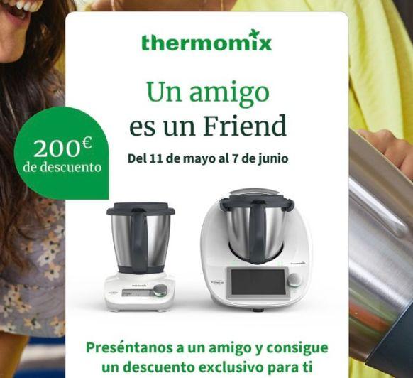 Thermomix® FRIEND Y 2º VASO CON DESCUENTO 200€