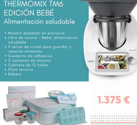 Thermomix® con Edición BEBÉ: alimentación infantil saludable.