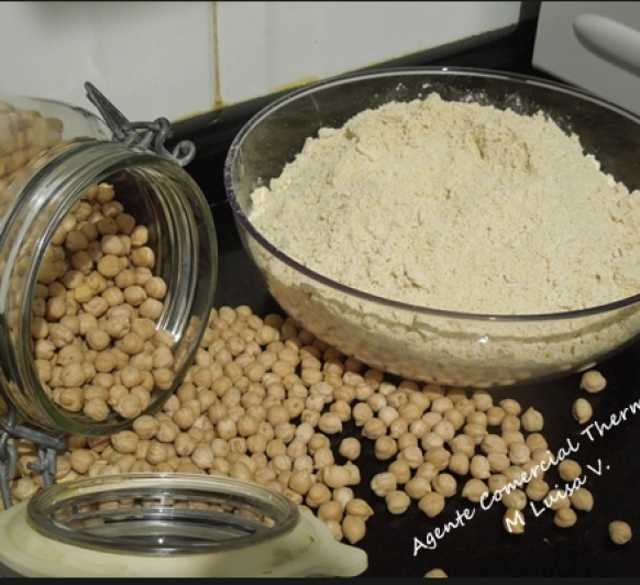 HARINA DE GARBANZOS, Thermomix®
