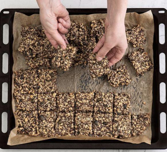 Galletas multicereales veganas y sin gluten con Thermomix®