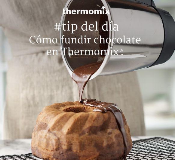 Fundir chocolate es fácil con Thermomix® TM6