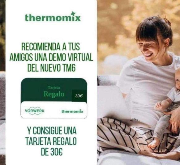 Thermomix® CHEQUE REGALO GRATIS, SIN MOVERTE DE CASA