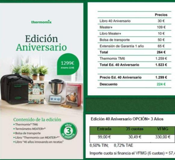 ¡LLEGARON LAS REBAJAS A Thermomix® ! Compra tu Thermomix® TM6 en A Coruña