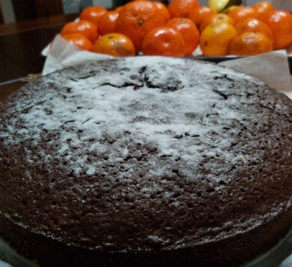 BIZCOCHO DE CHOCOLATE Y VINO