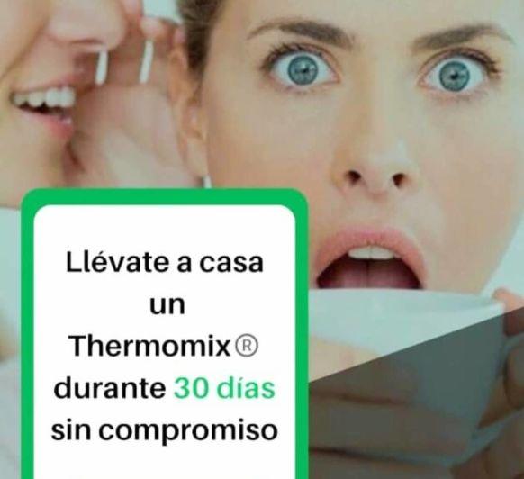 COMPRAR Thermomix® - DISFRÚTELO 30 DÍAS GRATIS, SI NO QUEDA SATISFECHO LE DEVOLVEMOS SU DINERO
