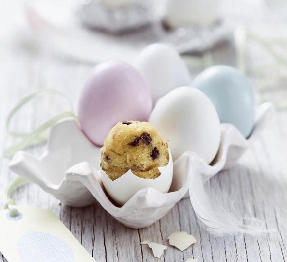 Muffins en huevo