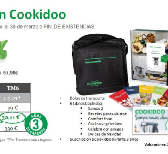 Efecto cuarentena: Se mantiene la promoción Cookidoo por tiempo indefinido ¡SIN INTERESES!