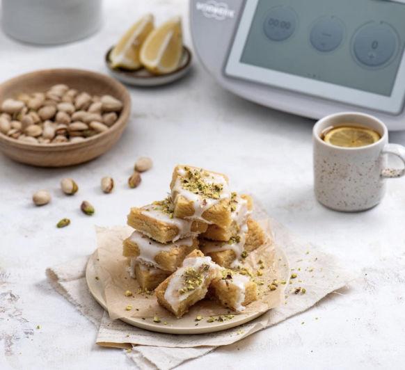 Comprar Thermomix® y AHORRAR: Hoy con Galletas de mantequilla de limón y pistachos