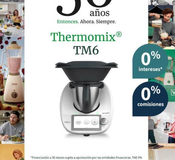 Thermomix® TM6 - SOLO 34,69€/MES